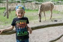 V sobotu se přes 30 dětí ze Světlíku vydalo do Zoologické zahrady v Jihlavě.