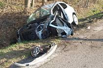 Vážná dopravní nehoda u Dolního Třebonína ve čtvrtek ráno na více než hodinu uzavřela hlavní tah z Českého Krumlova na České Budějovice.