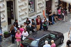 Český Krumlov plánuje, že už v květnu pro auta zavře pěší zónu.