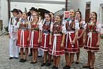 Mezinárodní folklórní festival v Českém Krumlově je v plném proudu.