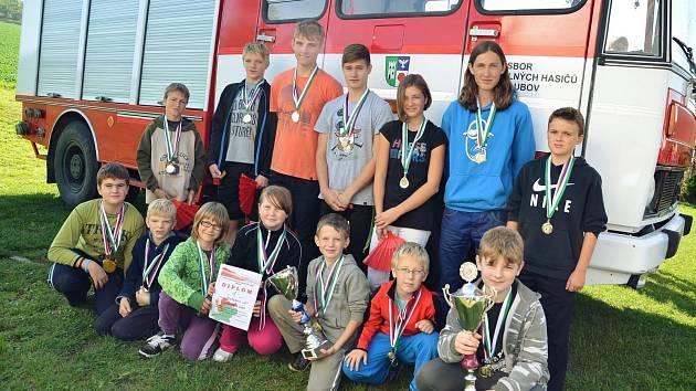 O víkendu se konala poslední soutěž okresního poháru mladých hasičů Českého Krumlova, ve které se rozhodlo o celkových vítězích.