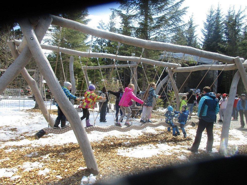 Království lesa Lipno zahájilo sezonu.
