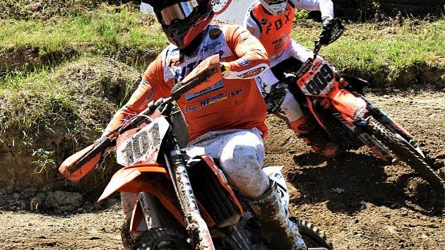 Václav Kovář na motokrosu v Kaplici