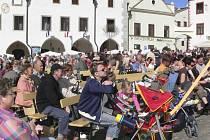 Kouzelný Krumlov začal na náměstí po 16. hodině
