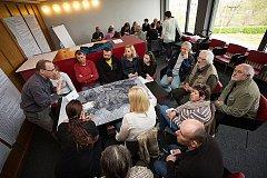 Veřejné setkání ke strategickému plánu pro město Český Krumlov.