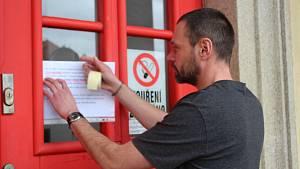 Koronavirus, zákazy a omezení, jižní Čechy