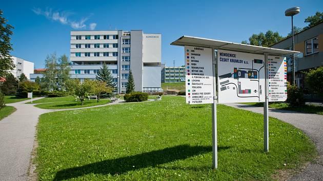 Českokrumlovská nemocnice.