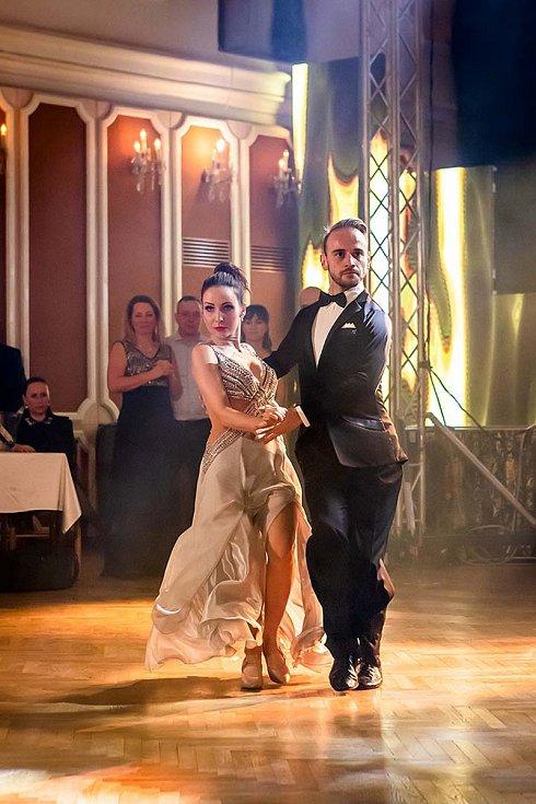 Veronika Arichteva a Michal Necpál měli premiéru po StarDance v Českém Krumlově. Foto: Lubor Mrázek