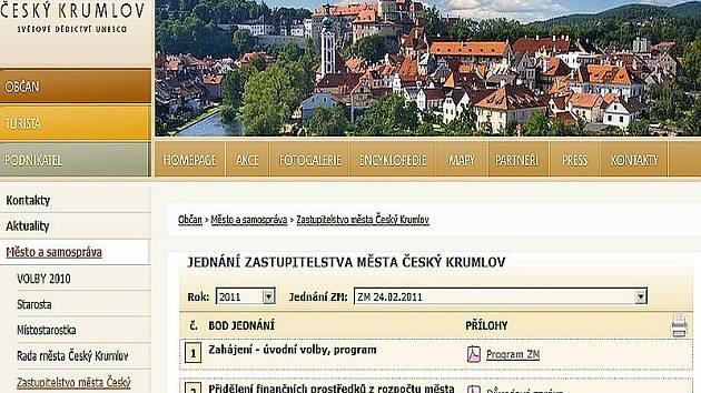 Po dvaceti letech nastala velká změna, dokumenty pro jednání zastupitelů si občané města mohou už před jednáním prohlédnout na městském webu.