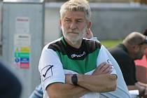 Trenér českokrumlovských fotbalistů Václav Domin je zároveň i předsedou okresního fotbalového svazu.