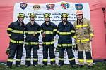 Dobrovolní hasiči z Velešína zabodovali v Praze. Zvítězili v soutěži vyprošťování osob z havarovaných vozů v kategorii dobrovolných hasičů.