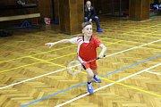 Krumlovští žáci na otevřeném krajském turnaji Grand Prix C kategorie U13 v Českých Budějovicích.