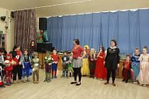 Novoroční karneval pro děti v Horní Plané.