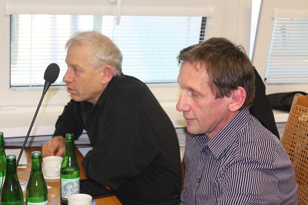 Jan Vorel (vlevo) a Jiří Bloch (oba Nezávislí a Zelení).