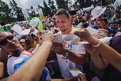 Čeští olympionici hned z letiště zavítali na Lipno.