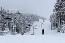 Podmínky pro lyžovačku jsou výborné.