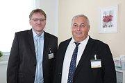 V Kaplici zahájili společně svou novou praxi lékaři Libor Hlavatý a Pavel Strejc.