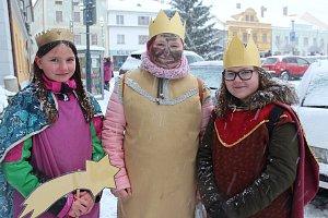 Tři králové chodí po Kaplici. Někdo spolu s nimi mohl spatřit i velblouda