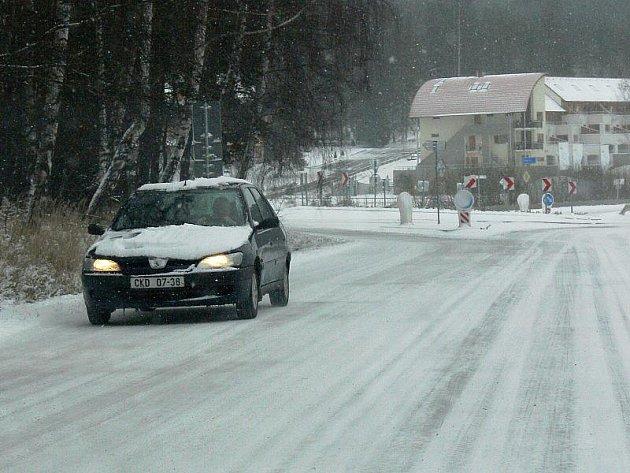 Zima na Lipensku.