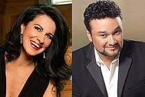 Angela Gheorghiu z Rumunska a Ramón Vargas z Mexika se už na Krumlov těší.