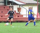 I.A třída mladší žáci – 21. kolo: Spartak Kaplice (černé dresy) – TJ Sokol Slavonice / Sokol Staré Město 13:1 (6:0).