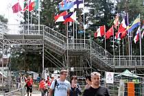 Příprava olympijského parku je v plném finiši.