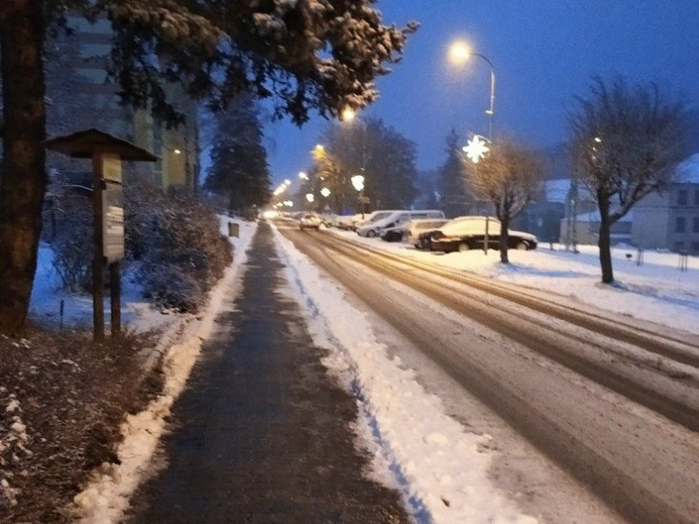 Středeční ráno v Loučovicích.