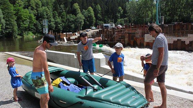 Vysoký stav Vltava začátek prázdnin 2020