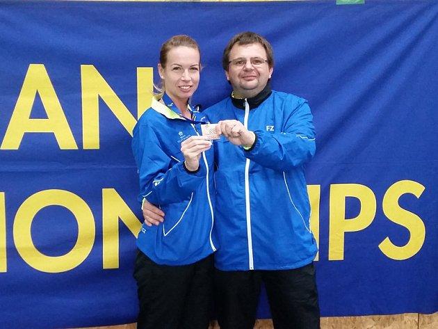 Hana Milisová pod taktovkou kouče Radka Votavy vybojovala již pátou evropskou medaili v kariéře, ale poprvé to bylo v individuální disciplíně prestižní dvouhry.