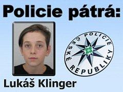 Hledaný Lukáš Klinger.
