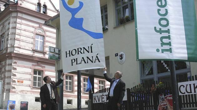 Hornoplánští představili nové turistické logo města.