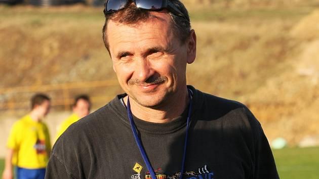 Fotbalové utkání A skupiny oblastní I. B třídy / TJ Smrčina Horní Planá - Slavoj Ledenice 1:0.