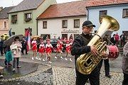 Oslava sto let od vzniku Československé republiky ve Velešíně.