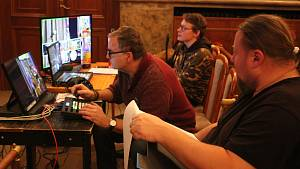 Tvůrci Krumlovského adventu žijí kolotočem natáčení