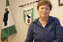 Starostka Přední Výtoně Regina Houšková.