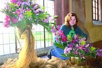 Výstava lilií ve Zlaté Koruně.