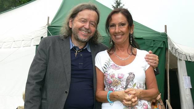 Karel a Jana Peterkovi na Šlágr Festu.