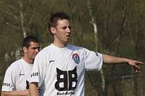 Vedoucí branku hostů obstaral navrátilec do sestavy kaplického Spartaku Michal Flöring, ale jeho zásah nakonec stačil jen na bod.