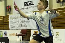 Desetiletý krumlovský mladíček Robin Tancer se po přípravě na domácích kurtech vydal na prestižní mezinárodní turnaj do nizozemského Hoensbreku, kde vybojoval s Justýnou Muchovou skvělé třetí místo ve smíšené čtyřhře.