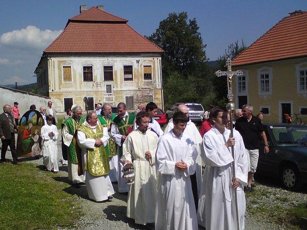 Vyšebrodský klášter.