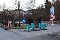 Parkoviště P1R, které by se mělo proměnit v nové parkoviště pro zájezdové autobusy.
