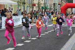 Do Večerního běhu Kaplicí se zapojili malí i velcí závodníci nejenom z Kaplice.
