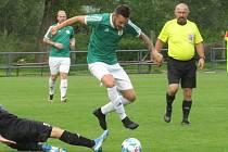 Fotbalisté Horní Plané připravili vedoucímu týmu přeboru Nové Vsi a Brloha první porážku v sezoně.