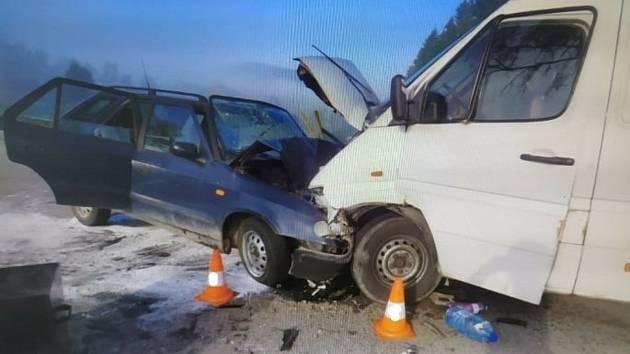 Tragická nehoda u Dolního Dvořiště.