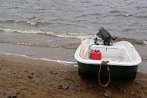 Na lipenském jezeře. Ilustrační foto