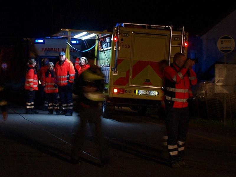 Jihočeští záchranáři při páteční vážné nehodě v Rybníku naplno otestovali nedávno pořízené vozidlo určené
