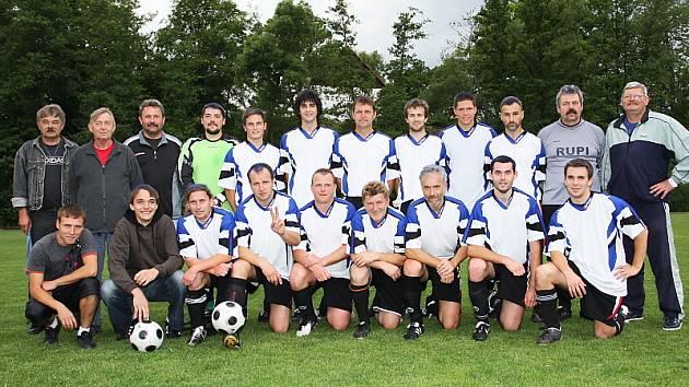 Vítěz okresního přeboru Českokrumlovska 2008/2009 - FK Nová Ves-Brloh.