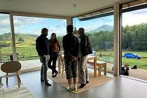 Do Českého soběstačného domu se podívali ti, kdo chtěli vidět, jak se dá žít bez inženýrských sítí.