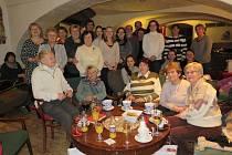 Setkání a ocenění dobrovolníků ICOS Český Krumlov v kavárně Galerie Art Centra Egon Schiele.