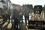 Představení a křest nové jihočeské whisky ve Svachově Lhotce.